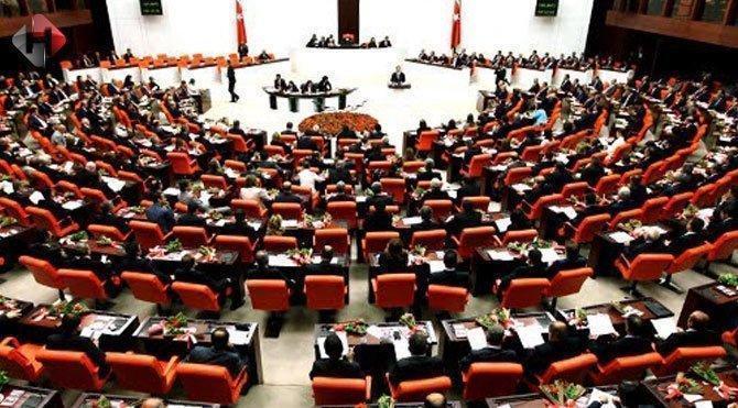Meclis'te AKParti CHP kavgası TBMM TV Canlı son dakika