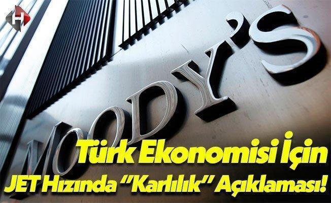Moody's Türk Bankaları İçin JET Hızında Rapor Yayınladı!