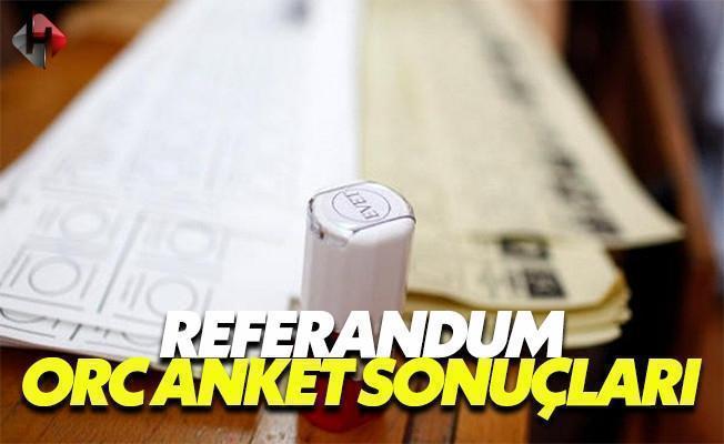 Referandum 2017 anket sonuçları evet mi hayır mı 6 Şubat Pazartesi