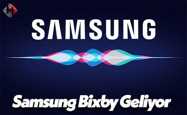 Samsung Bixby Sesli Asistanını Hayata Geçiriyor!