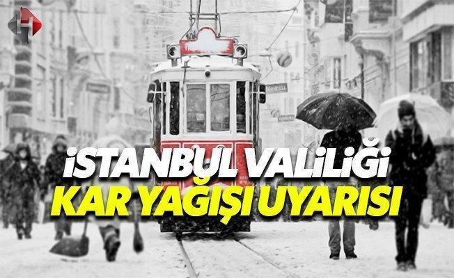 Son dakika İstanbul Valiliği kar yağışı 7 Ocak Cumartesi hava nasıl olacak