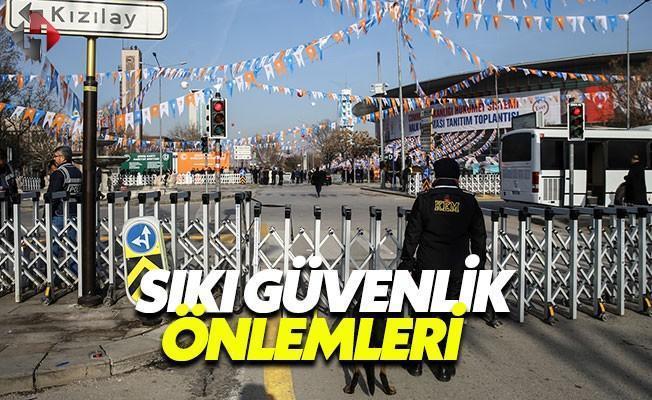 Ankara Arena'da Geniş Güvenlik Önlemleri Dikkat Çekiyor