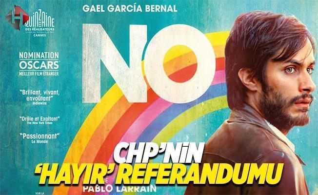 CHP'nin 'Hayır' kampanyası Şilili reklamcıdan