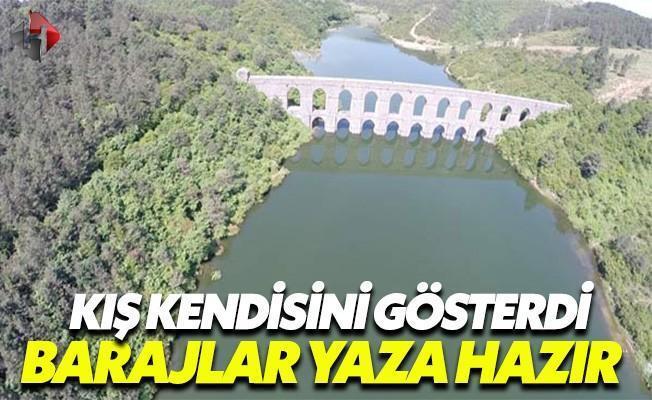 İstanbul'daki Barajlar Yaza Hazır