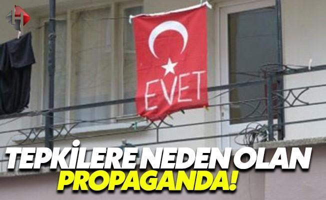 Türk Bayrağına 'Evet' Yazdı!