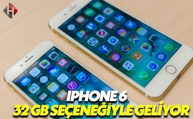 32 GB iPhone Modeli Geliyor
