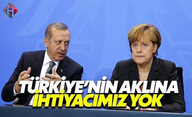 Almanya: PKK Konusunda Sizin Aklınıza İhtiyacımız Yok