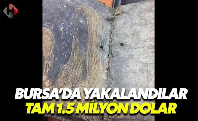 Bursa'da Ele Geçirildi! Tam 1.5 Milyon Dolar!