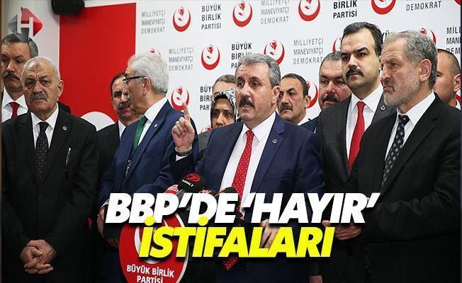 Büyük Birlik Partisi'nde Referandum Depremi Devam Ediyor