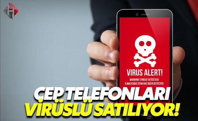 Cep Telefonu Kullanıcılarına Virüslü Satış