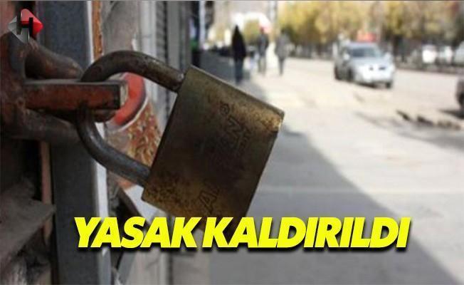 Diyarbakır'ın 18 Köyünde Yasak Kaldırıldı