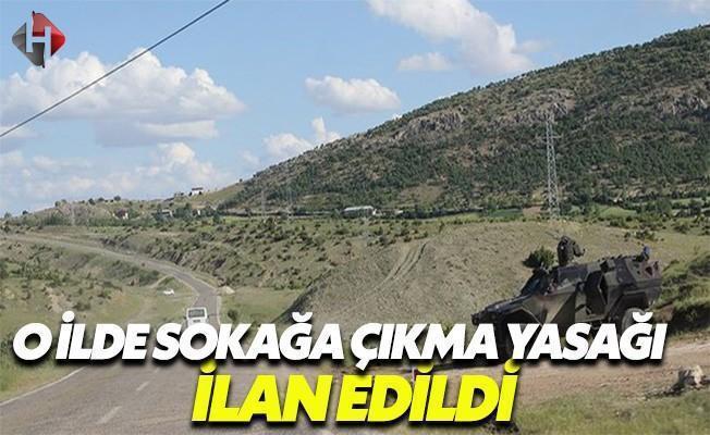 Diyarbakır'ın Lice İlçesi'nde Sokağa Çıkma Yasağı