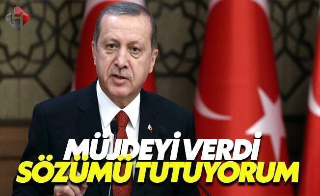 Erdoğan Müjdeyi Verdi: Kuruyoruz