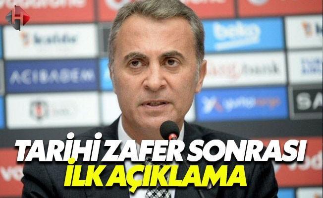 Fikret Orman Olympiakos Zaferini Değerlendirdi