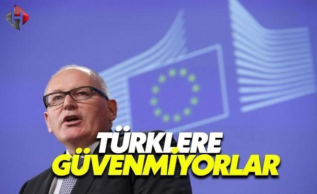 Hollanda Halkı Türklere Güvenmiyor