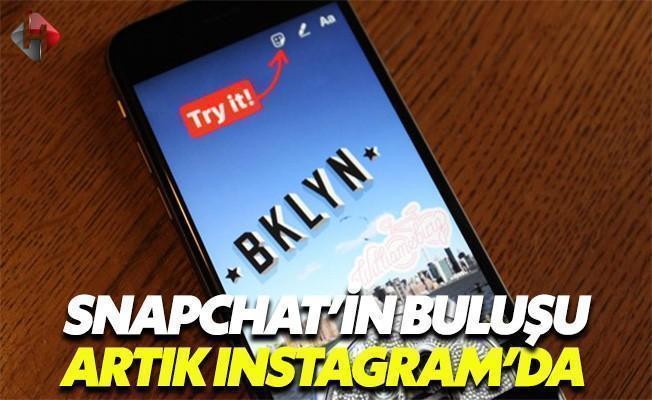 Instagram Snapchat'i Taklit Etmekten Çekinmiyor