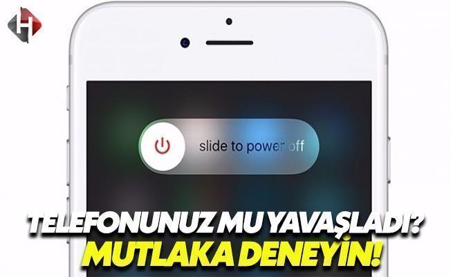 iOS Cihazınız Yavaşladıysa Mutlaka Bunu Deneyin