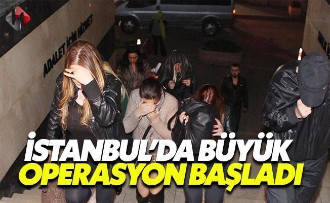 İstanbul'da Fuhuşa Karşı Büyük Operasyon