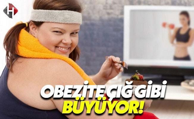 Kadınlarda Armut Tipi, Erkeklerde Elma Tipi Obezite Artıyor