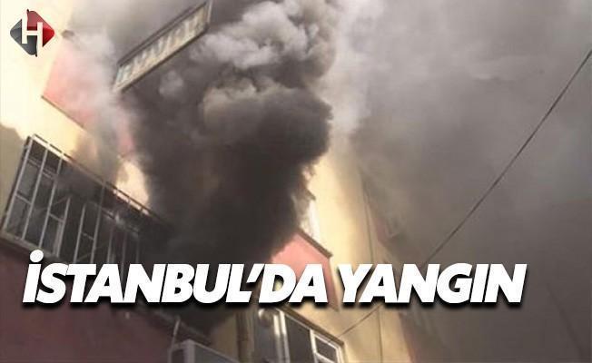Karaköy'deki Yangın Kokuttu