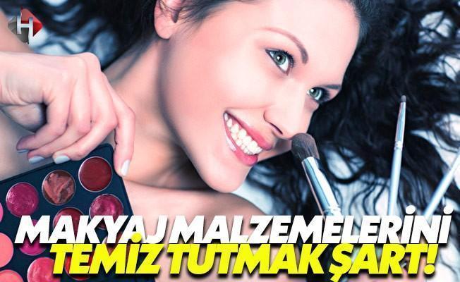 Kozmetik Ürünlerinin Temizliğine Dikkat