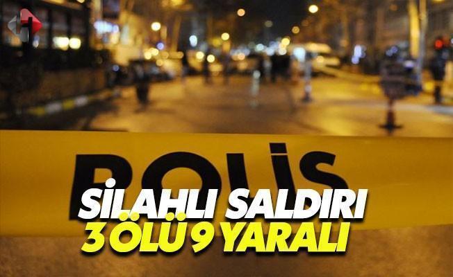 Malatya'da Bir Kafede Silahlı Saldırı: 3 Ölü 9 Yaralı