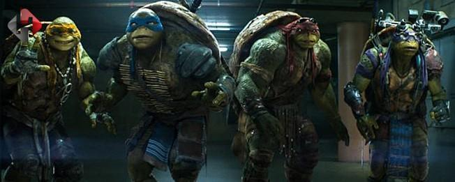 'Ninja Kaplumbağalar: Gölgelerin İçinde' yarın vizyona girecek
