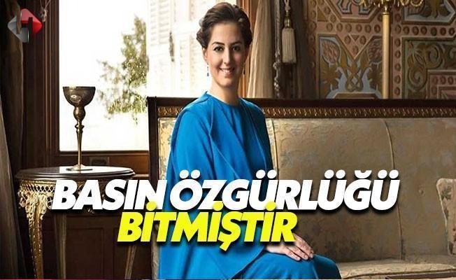 Osmanoğlu: Basın Özgürlüğü Bitmiştir
