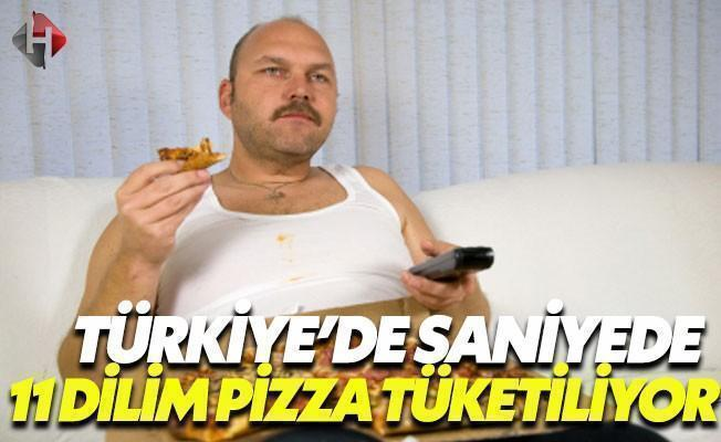 Pizza Tüketiminde Coştuk