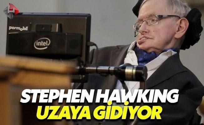 Stephen Hawking, Uzay Yolculuğuna Hazırlanıyor