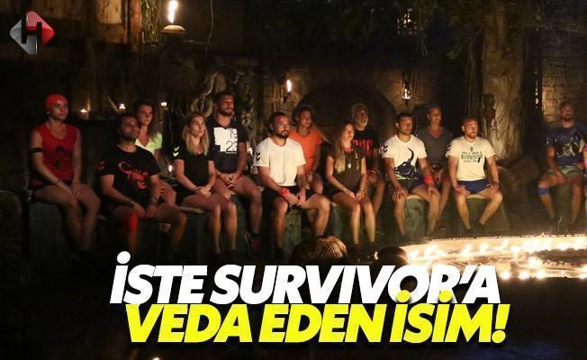 Survivor'a Veda Eden İsim Sonunda Belli Oldu
