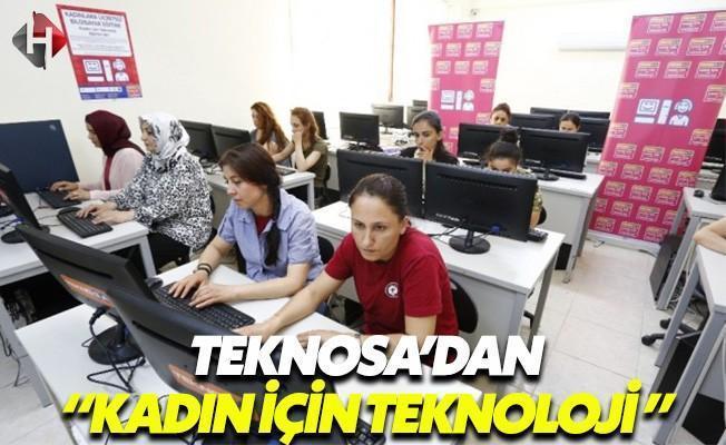 TeknoSA'dan Kadın İçin Teknoloji Projesi
