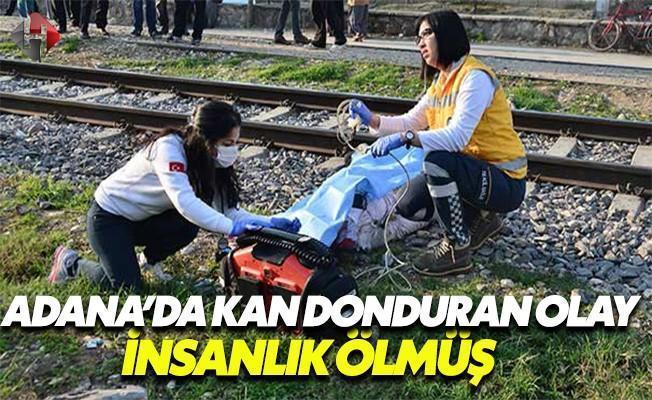 Trenin Çarptığı Genç Kız Hayatını Kaybetti!