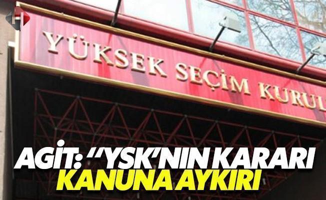 AGİT  referanduma dair  ön raporunu yayınladı
