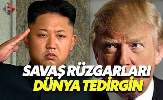 Amerika ve Kuzey Kore Arasında Savaş Rüzgarları
