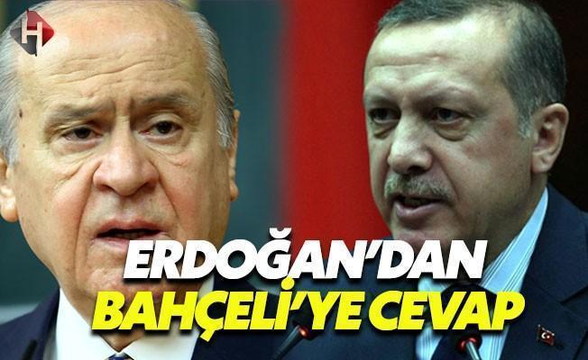 Bahçeli'nin Açıklamalarına Cumhurbaşkanı Erdoğan'dan Cevap
