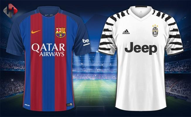 Barcelona Juventus rövanş maçı ne zaman saat kaçta şifresiz hangi kanalda