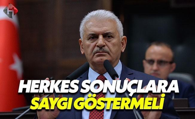 Başbakan Yıldırım'dan Cumhurbaşkanı Erdoğan'a Davet