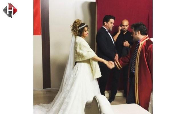 Beyazıt Öztürk ile Büşra Pekin nikah masasında