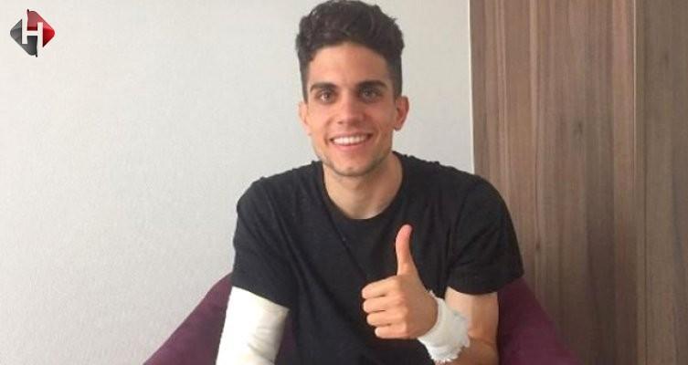 Bombalı saldırıda yaralanan Marc Bartra'ya şok