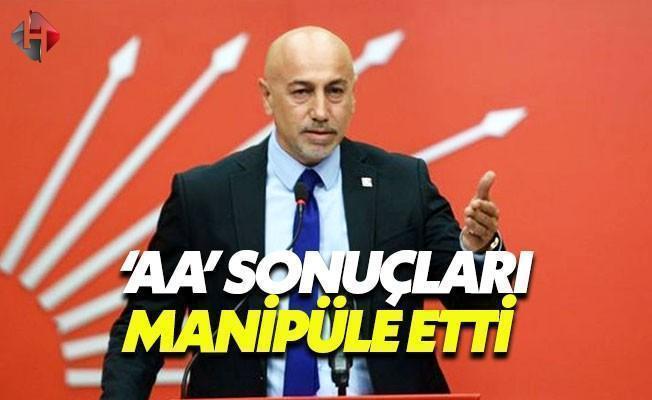 CHP: Anadolu Ajansı Sandıklar Açılmadan Sonuçları Veriyor
