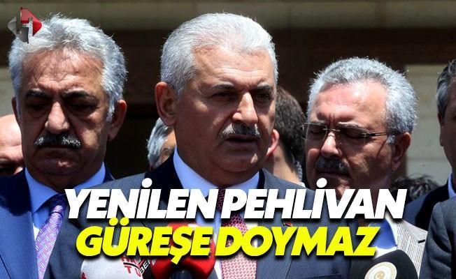 CHP'nin Danıştay Kararına Başbakan'dan Yıldırım Tepki