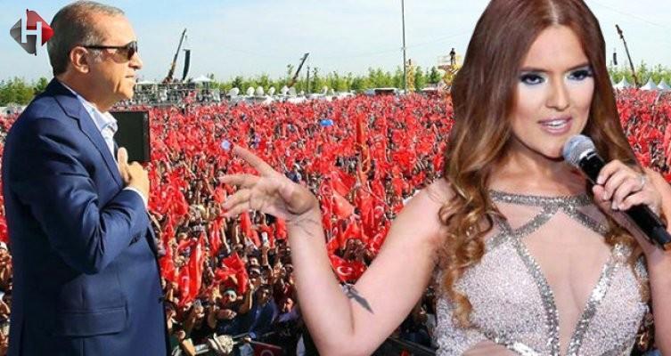 Cumhurbaşkanı Erdoğan'a Demet Akalın sürprizi
