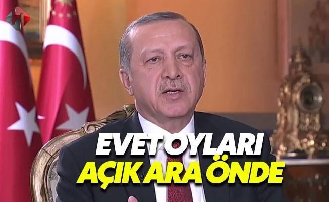 Cumhurbaşkanı Erdoğan: Açık Ara Evet Çıkacak