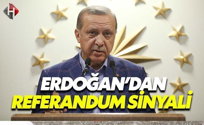 Cumhurbaşkanı Erdoğan'dan İkinci Referandum Sinyali