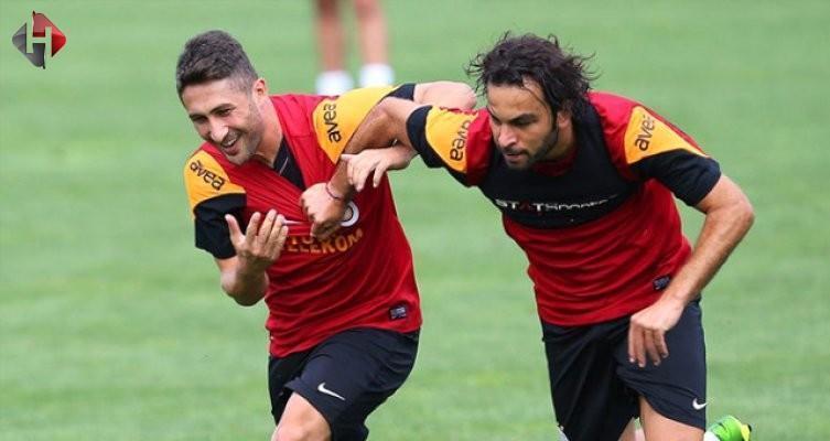 Galatasaray'da Selçuk ve Sabri barıştı