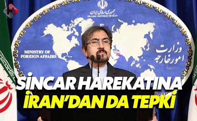 İran'dan Türkiye'ye Sincar Tepkisi