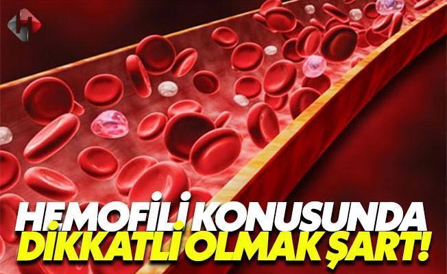 İşte hemofili hastalığının belirtileri