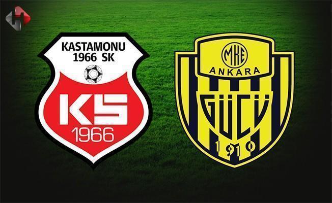 Kastamonuspor Ankaragücü maçı ne zaman saat kaçta hangi kanalda