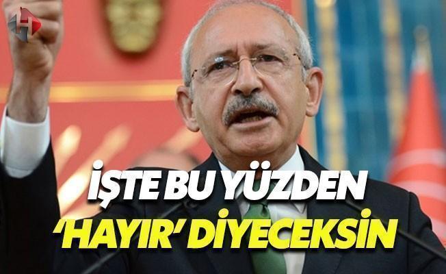 Kılıçdaroğlu: Türkiye Felakete Gönderiliyor